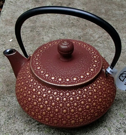 Use Care Tetsubin Teapots, Japanese Cast Iron, Black